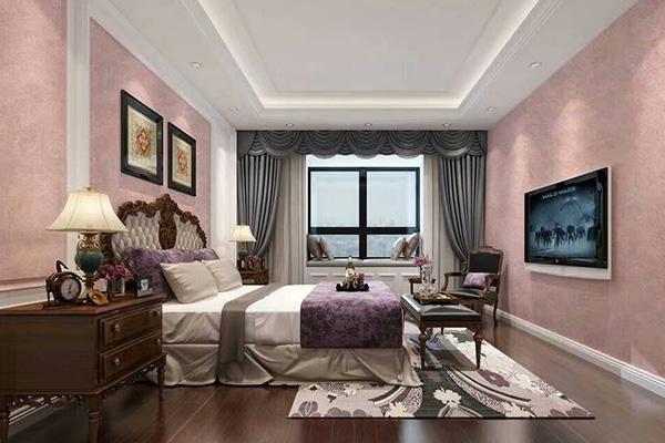 卧室墙面装饰艺术漆,效果好不好看这里!